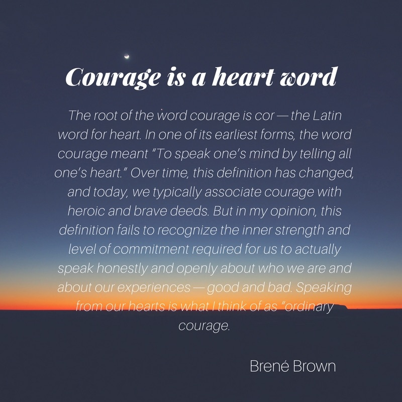 It takes courage to love | Painted love affair